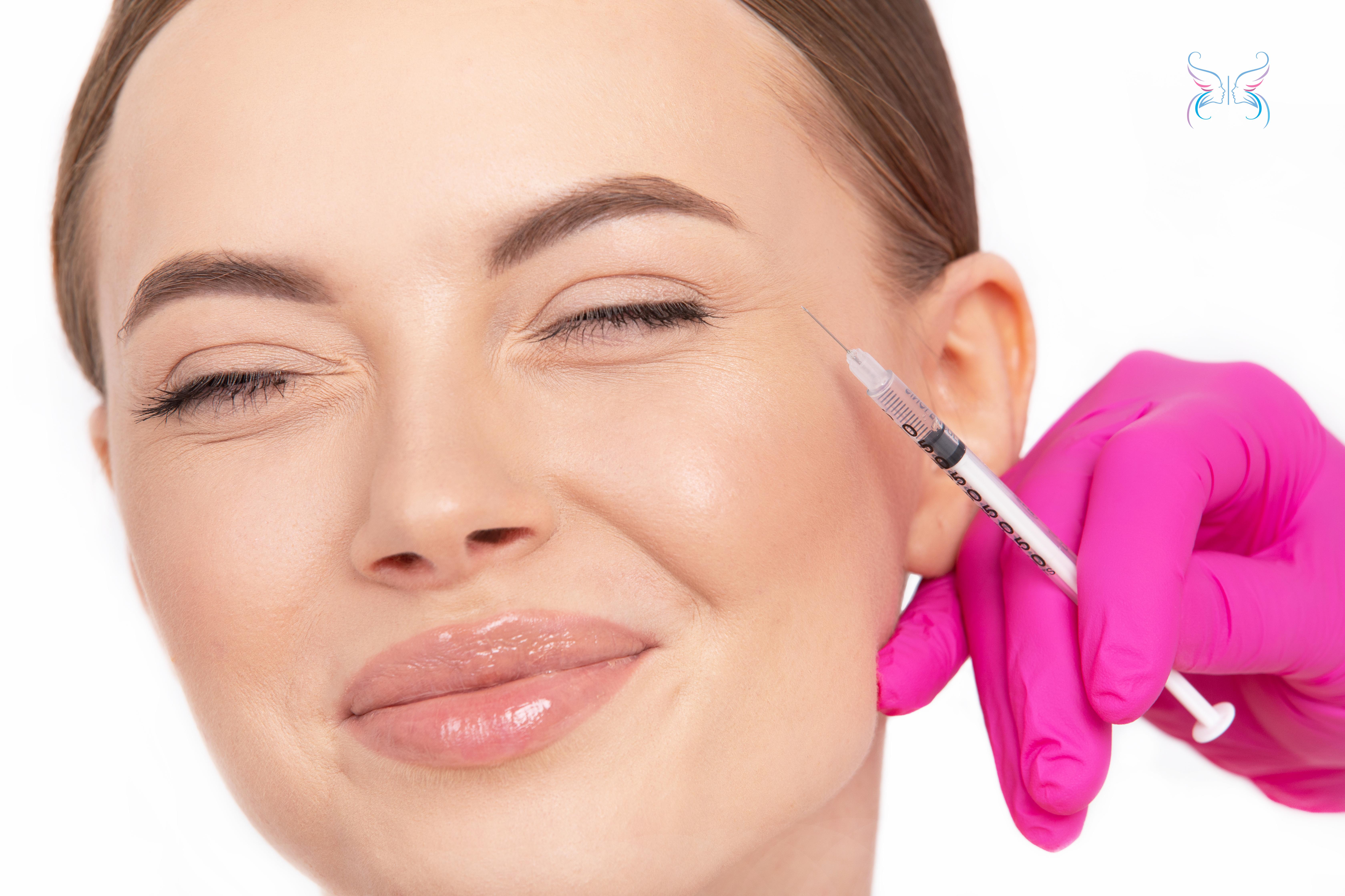 Ботокс (Botox) инъекции вокруг глаз