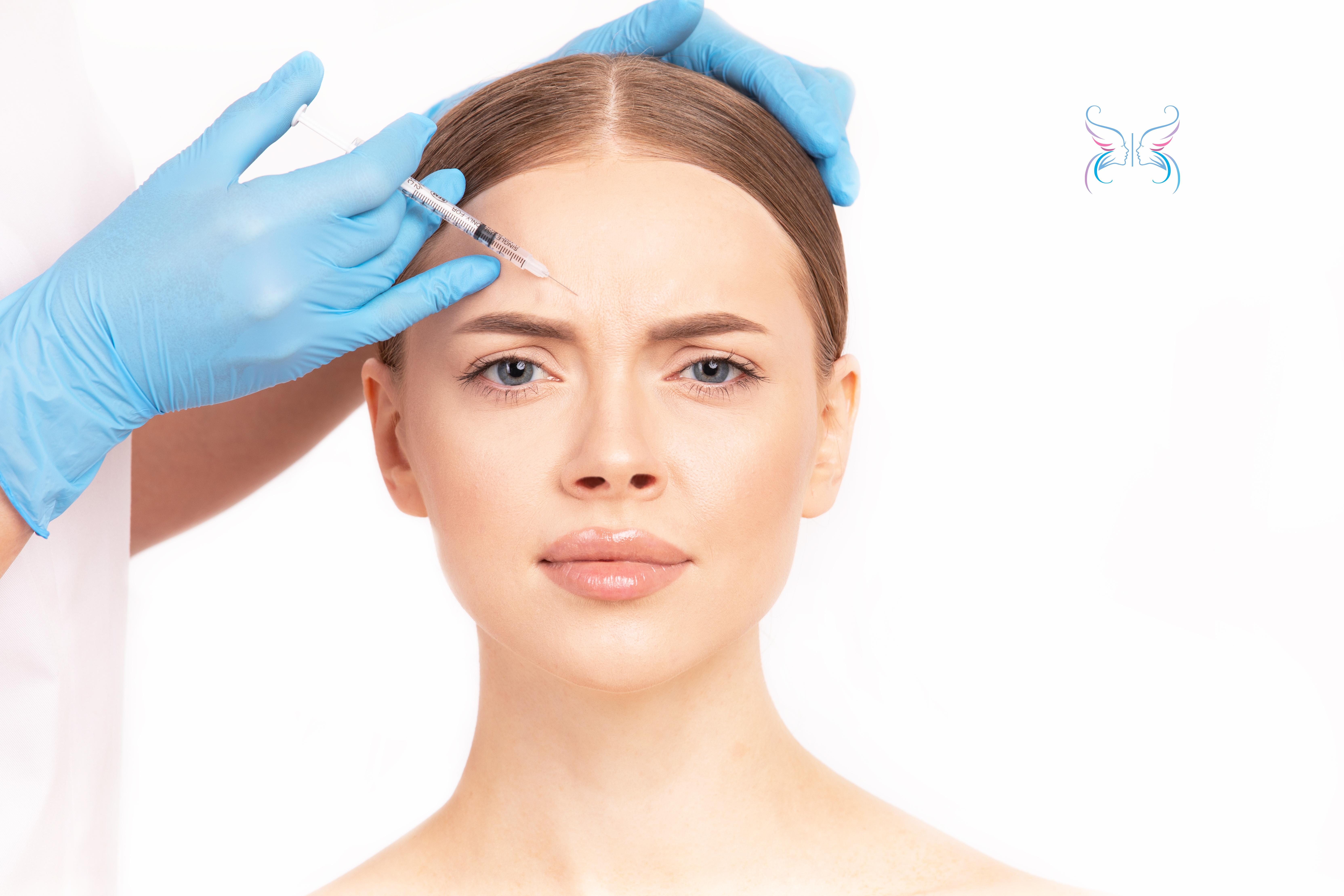 Ботокс (Botox) инъекции для зоны между бровями