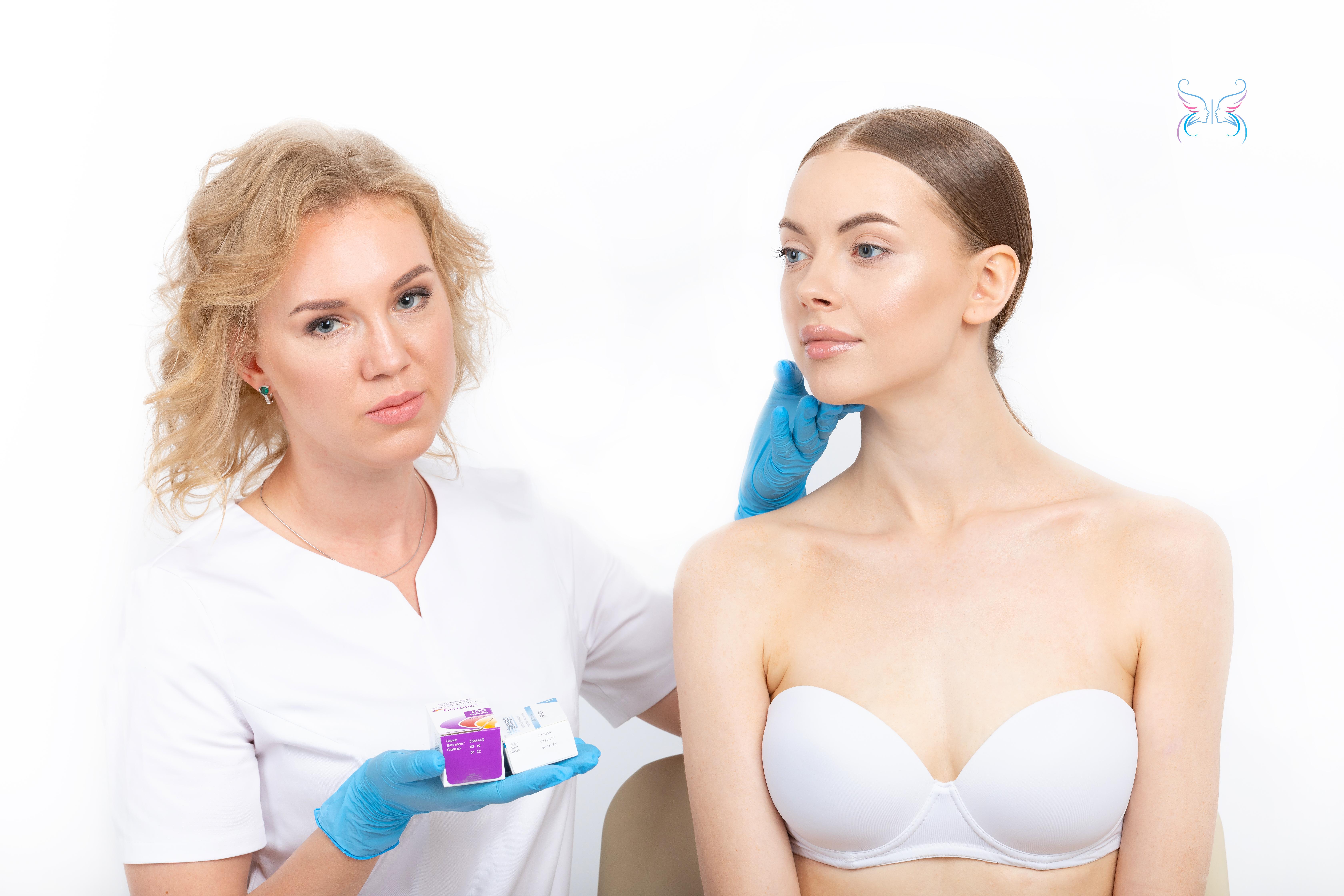 Дозировка ботокса (Botox) Романовой Анной
