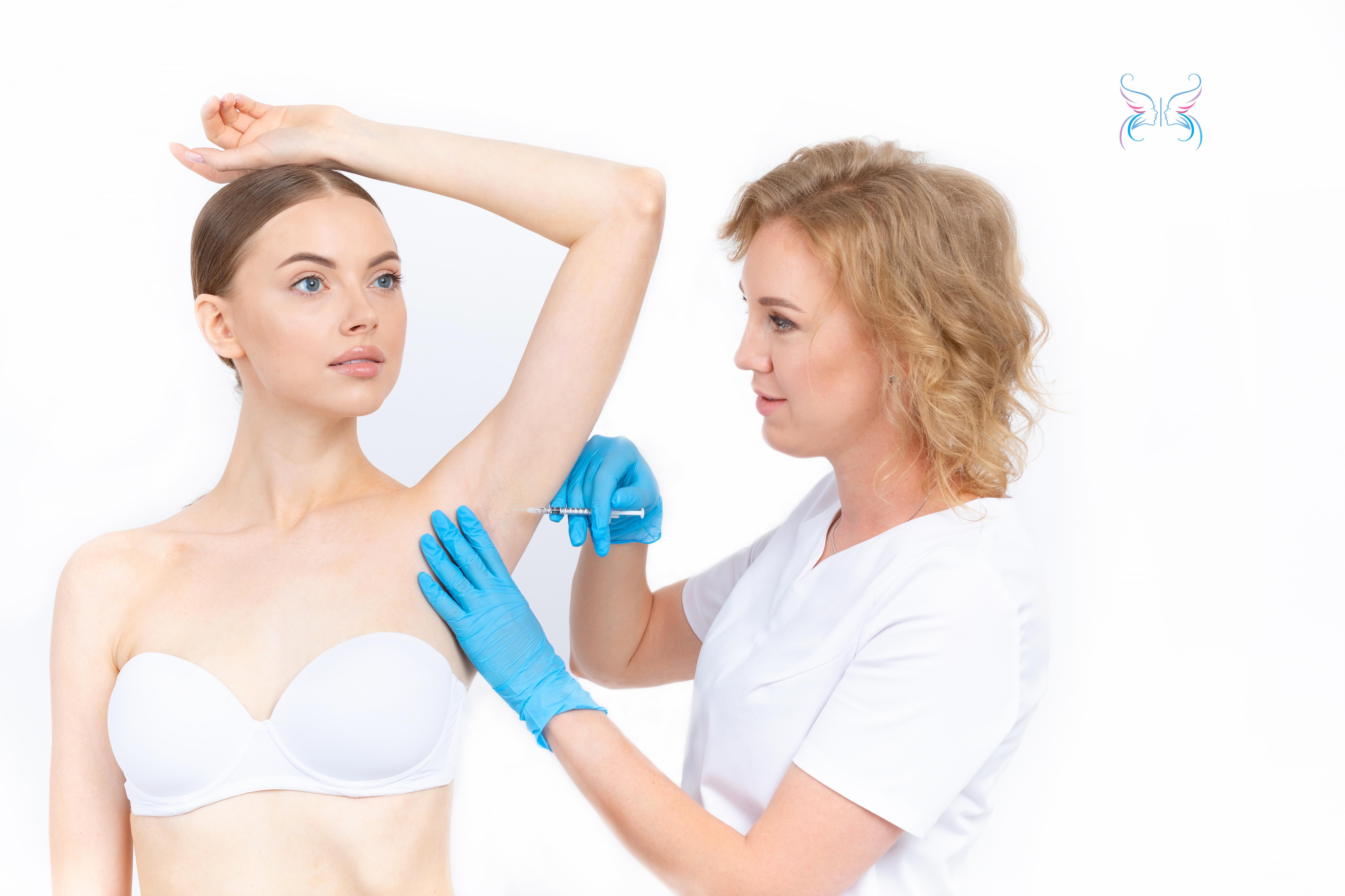 Ботокс (Botox) для лечения гипергидроза