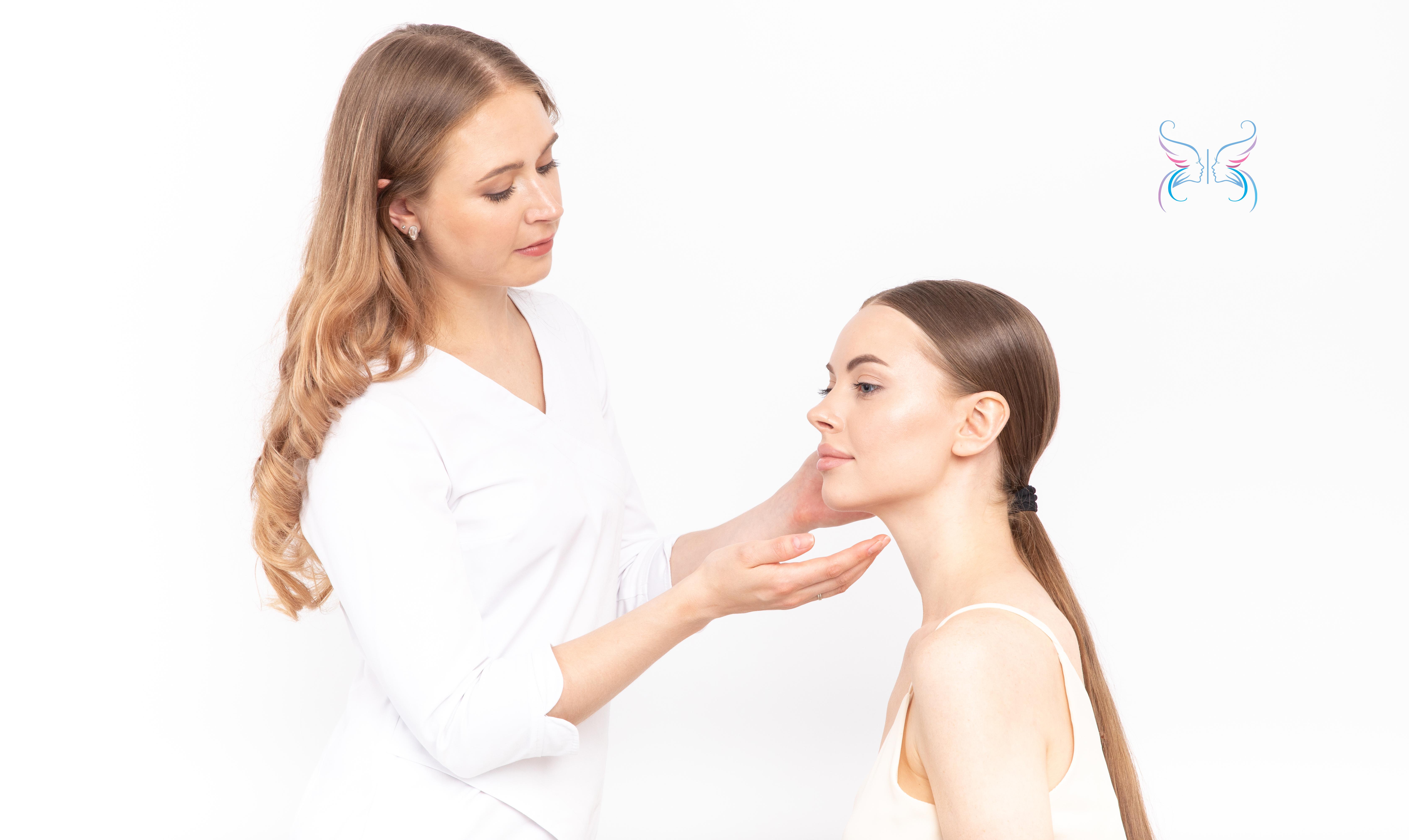 Осмотр у врача косметолога