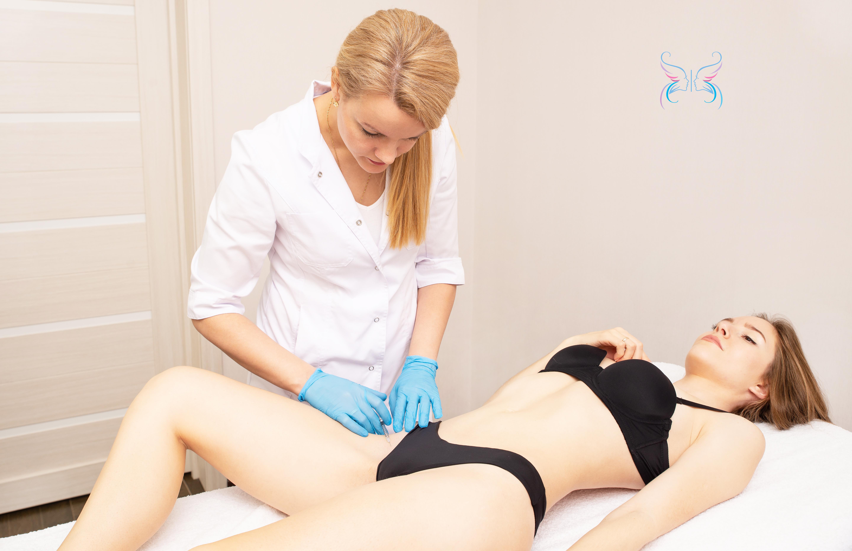 Лечение гипергидроза в области паховых складок и под грудью